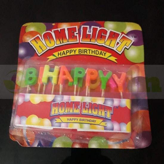 Happy Birthday Candle From VIBH Cake Studio