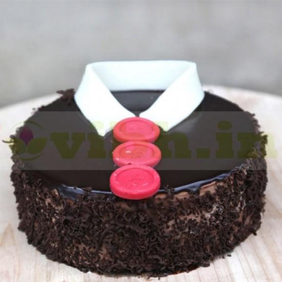 Chocoholic Shirt Cake From VIBH Cake Studio