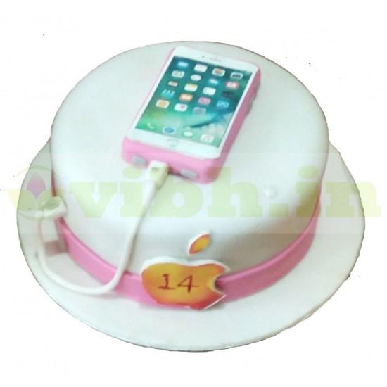 iPhone Themed Fondant Cake From VIBH Cake Studio