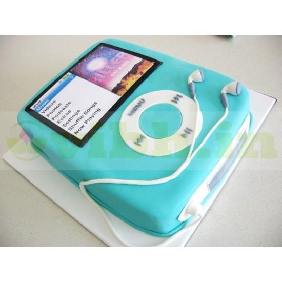 iPod Shape Fondant Cake From VIBH Cake Studio