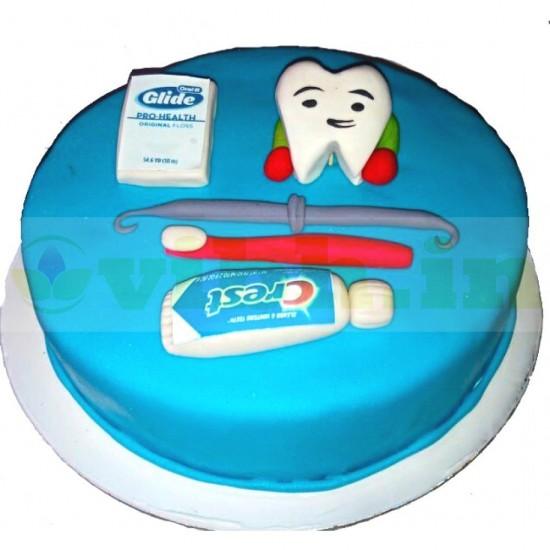 Dentist Theme Designer Cake From VIBH Cake Studio