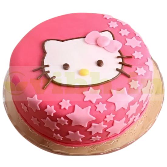 Hello Kitty Birthday Cake.Buy Cute Hello Kitty Birthday Cake Online