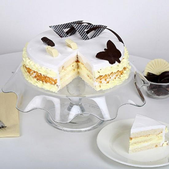 Butterscotch Round Cake From VIBH Cake Studio